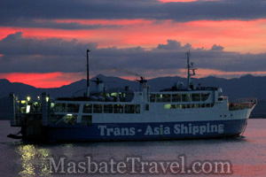 trans-asia departing port of masbate